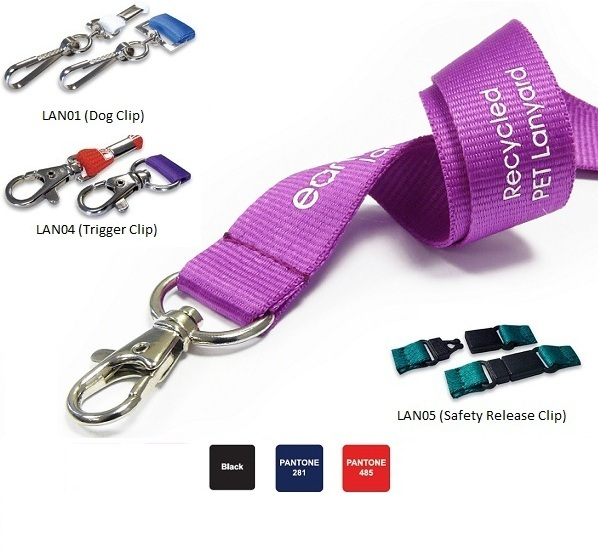 Recycled Lanyard PET (5 DAY EXPRESS)