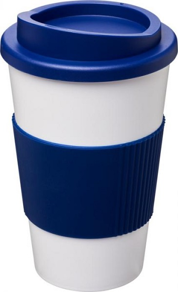 Americano 350 ml insulated tumbler with grip