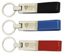 Meribel Keyring-Leather Tag